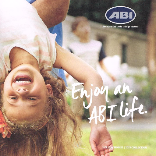 Picture of front cover of ABI brochure