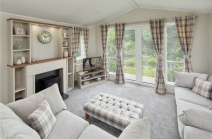 Lounge photo of a 2021 Willerby Dorchester 43 x14 2 bedroom holiday home.